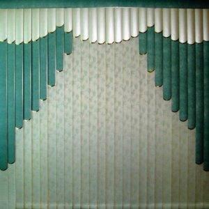 Пример работы mult14 Мультифактурные или многослойные жалюзи