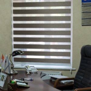 Пример работ Рулонные шторы Зебра 5