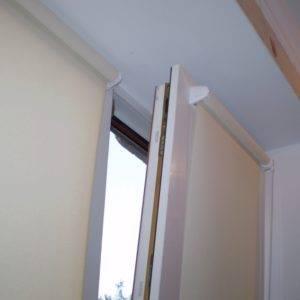 Пример работ Рулонные шторы 2