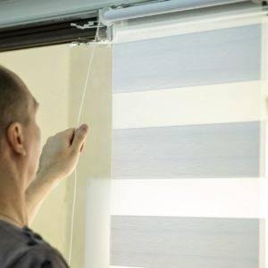 Пример работ Рулонные шторы Зебра 3
