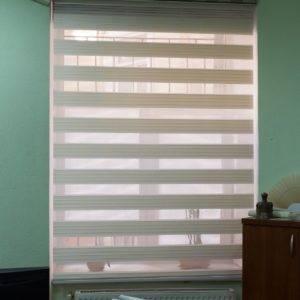 Пример работ Рулонные шторы Зебра 4