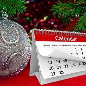 графік роботи на новорічні свята 2019-2020