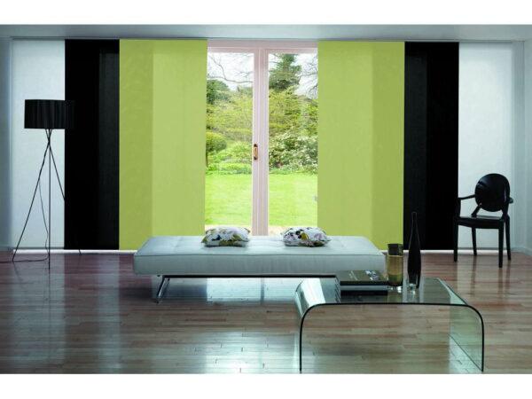 Японські штори зелені