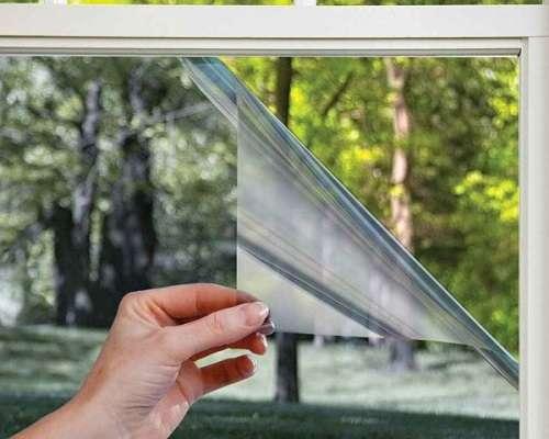 дзеркальна плівка на вікна