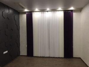 примеры работ Рейчел фиолетовый, слоновая кость и белый