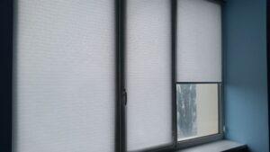 пример работы для рулонных штор классических с тканью Мюнхен